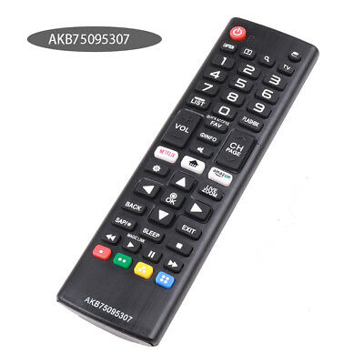 New LG Replacement TV Remote  AKB75095307 For LG LED HDTV Smart TV Tool Guide