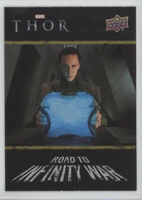 2018 UD Marvel Avengers Infinity War Road to War card #8 COSMIC CUBE