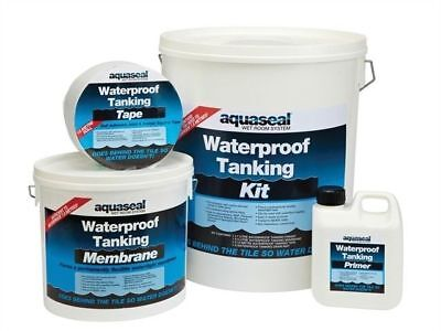EVERBUILD AQUASEAL TANKING WET SHOWER BATHROOM WATERPROOF KIT | Different Sizes