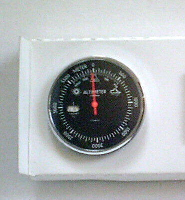 OVP ALTIMETER HÖHENMESSER m. Thermometer, Barometer 0-4000 m, Outdoor + Auto,