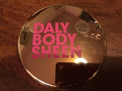 M&S Tess Daly Scented Body Sheen Silk Finish Highlighting Balm Made in The UK