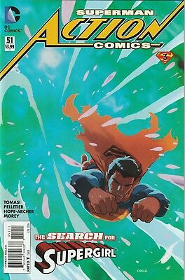 DC Action Comics #51 FIRST PRINTING NM/NM+ 2016 Final Days of Superman Part 3