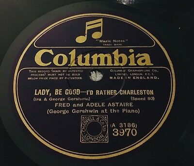 Fred and Adele Astaire with GEORGE GERSHWIN: I'd Rather Charleston E to E+ !