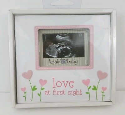 NEW Love At First Sight Sonogram Ultrasound Picture Frame For Girl