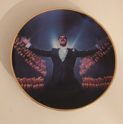 Freddie Mercury Collection - Limited Edition Danbury Mint Plate