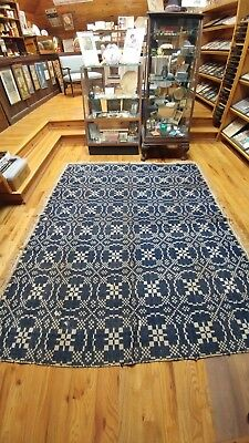 Early Summer/Winter Woven Coverlet