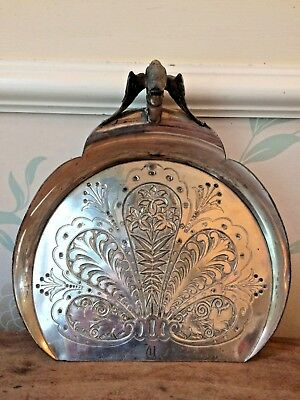 19C Victorian silver plated James W Tufts gothic crumb tray Christopher Dresser