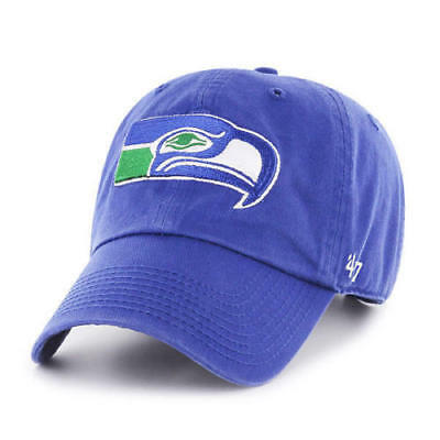 pretty nice 70512 28b91 Seattle Seahawks NFL Franchise Vintage Style Dad Cap Hat NWT  47 BRAND Small