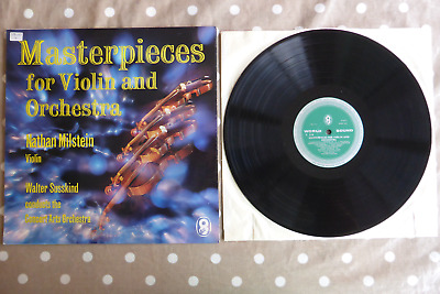 Masterpieces for Violin Nathan Milstein Susskind WRC T519 Rare UK ED1 LP