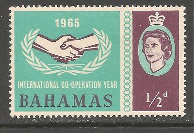Bahamas #222 (CD318) VF MINT OG - 1965 1/2p International Cooperation Year