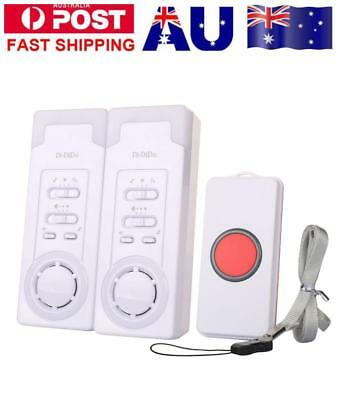 1 For 2 Wireless Caregiver Personal Pager System Emergency Care Alarm System