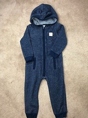 Carter'S One Piece Toddler Boys Blue Size 24M