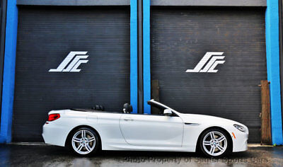 2015 BMW 6 Series 640i 2015 BMW 640i M Sport Convertible Heads Up Display Financing Available Trades