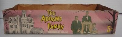vintage The Addams Family Donruss Bubble Gum Trading Card Box 1965 monster
