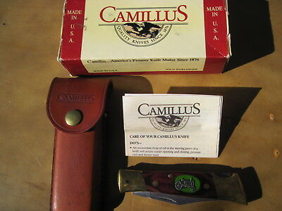 Camillus N.y. Usa Knife Featuring John Deere Model A Tractor 1934-1952  Handle
