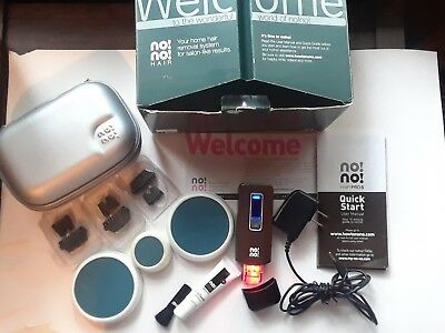 No No Hair Pro 5 Hair Removal System Complete In Box  used a few times