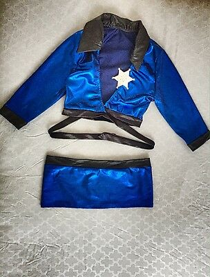 Ladies Police Fancy Halloween Costume Sexy Cop Outfit Woman Cosplay