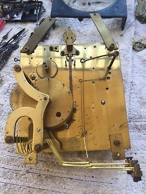 Antique Junghans A42 Westminster Chime Mantle Clock Movement Working