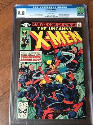 X-Men #133 CGC 9.8 white pages, Hellfire Club Appearance