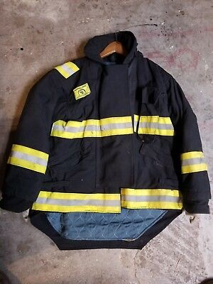 Morning Pride Firefighter turnout gear bunker Coat Made In The USA