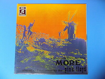 1969 Holland OST LP flipback laminated More PINK FLOYD Columbia Prog Psych 1st