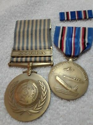 Us Army Korea Korean War And American Campaign Medals