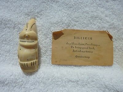 Vintage Scrimshaw Carved Whale Tooth - NOT A REPLICA ! !