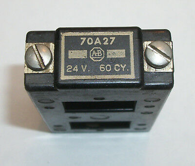 ALLEN BRADLEY RELAY COIL #70A27 - 24 VOLT AC - FREE SHIPPING TO US ADDRESSES goo