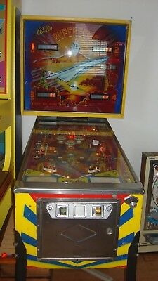 1979 SuperSonic Bally's Pinball Machine