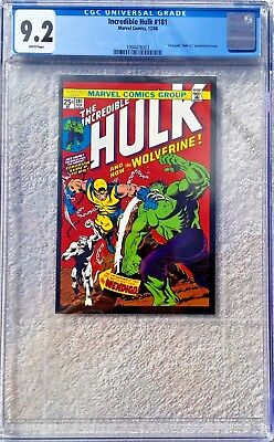 Cgc 9.2 Incredible Hulk #181 .. Lionsgate Promo Issue .. 2008 .. Scarce ..