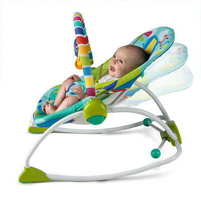 Bright Starts Baby/Infant/Cradling Bouncer/Rocking Chair/Toddler Seat/Toy 3m+ MS
