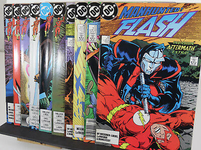 THE FLASH Lot (1989, DC Comics) 22 23 24 25 26 27 28 29 30 31 Invasion tie-in