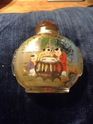 Collectible Chinese snuff/perfume Bottle