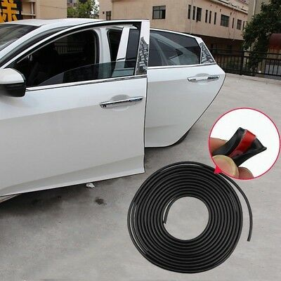 5M DIY Universal AUTO ACCESSORIES Car Door Edge Rubber Protector Strip Free Ship