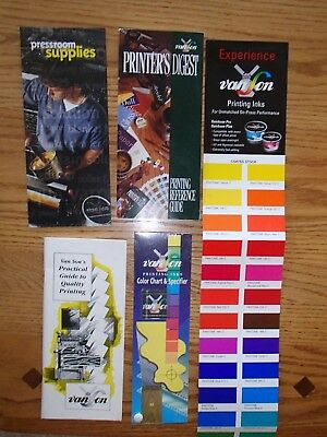 Van Son Printer's Digest and Related Booklets