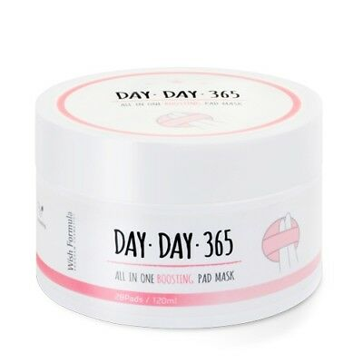[Wish Formula] Day Day 365 All In One Boosting Pad Mask 28pad / Korean Cosmetics