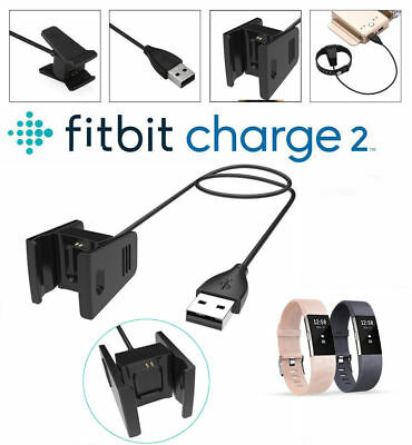 USB Replacement Power Charger & Screen Protector & Watchband For Fitbit Charge 2