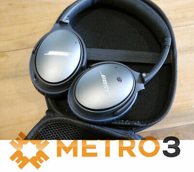 3b2393dac5f Bose QuietComfort 25 QC25 Noise Cancelling Headphones Apple & Android &  Extras