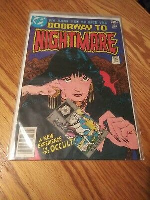 Doorway To Nightmare 1 First 1st Appearance Of Madame Xanadu 1978 DC comics
