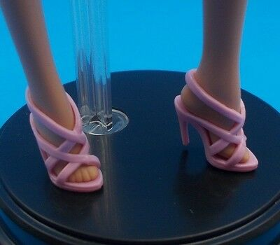 2016 Barbie Shoes Model Muse Birthday Wishes Collector Doll Pink Heels Footwear