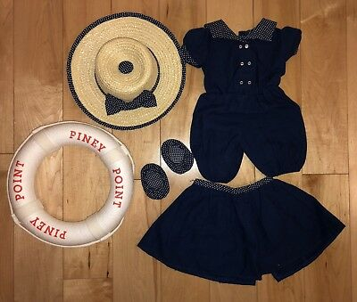 SAMANTHA American Girl Doll Special Edition Piney Point Bathing Outfit - Retired