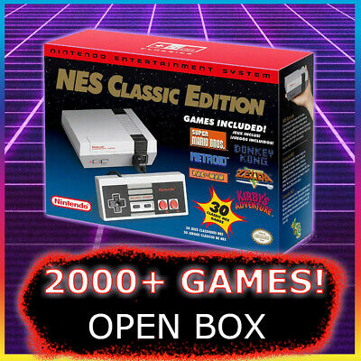 NES CLASSIC MODDED with 805+ Games 🔥 Nintendo Classic Edition Console OPEN BOX