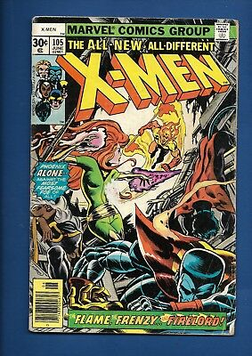 Uncanny X-Men Xmen #105 111 112 113 114 115 Marvel 1977 Bronze Age Comic Lot
