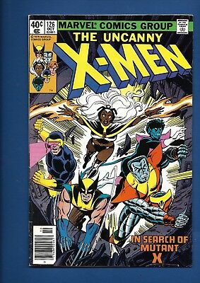 Uncanny X-Men Xmen #126 127 128 129 130 131 Marvel 1977 Bronze Age Comic Lot