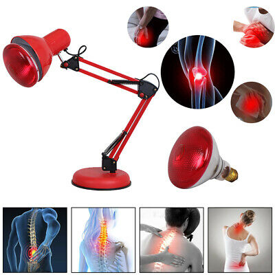 IR Heating Infrared Therapy Pain Relief Floor Heat Lamp Health Care Massage