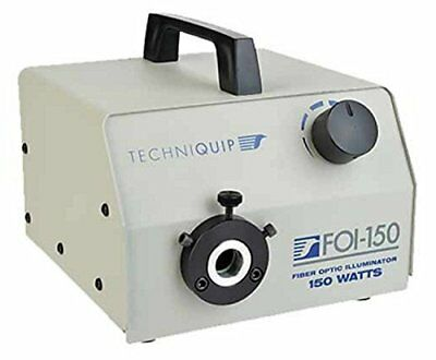 Techniquip FOI-150 PowerCube Halogen Fiber Optic Illuminator, 150W, 120VAC