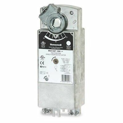 Honeywell MS8120F1002 2-Position HVAC Damper Actuator, 24V, 175 lb-in, SPST