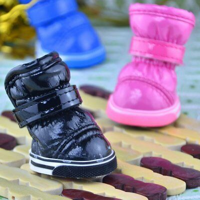 Winter Pet Dog Warm Snow Boot Puppy Soft Booties Shoes Chihuahua Sneakers Shoes