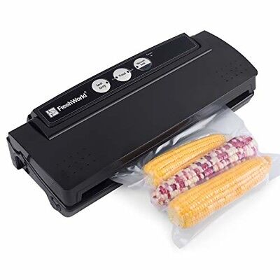 Fresh World Vacuum Sealer Automatic Vacuum Sealing 4 in 1 System for Food saving