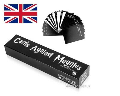 New Box In Cards Against Muggles 1440 Cards Harry Potter Limited Edition